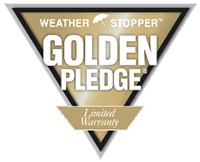 Weather Stopper Golden Pledge logo