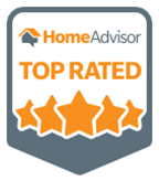 top rated HomeAdvisor logo